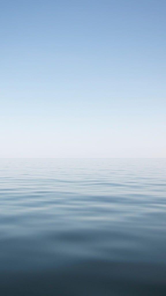Nature-Calm-Ocean-Skyline-Landscape-iPhone-6-plus-wallpaper-ilikewallpaper_com