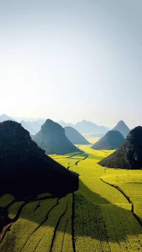 Nature-Mountain-High-Green-Field-Landscape-iPhone-6-plus-wallpaper-ilikewallpaper_com