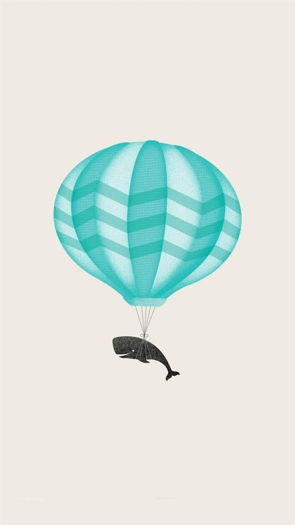 Cute-llustration-Whale-Balloon-Art-iPhone-6