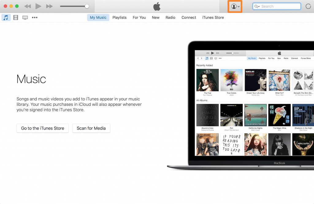 iTunes-Account-Button