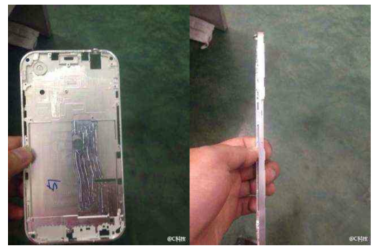 صورة مسربة لغطاء آيفون 6 الخلفي