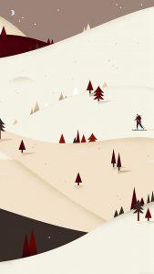 google-lollipop-december-red-background-iphone-6-plus-wallpaper