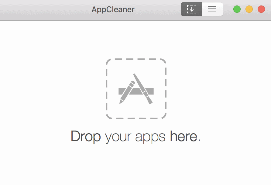 AppCleaner لإزالة البرامج من أجهزة الماك