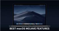 تعرف على 14 ميزة في نظام الماك الجديد macOS Mojave 10