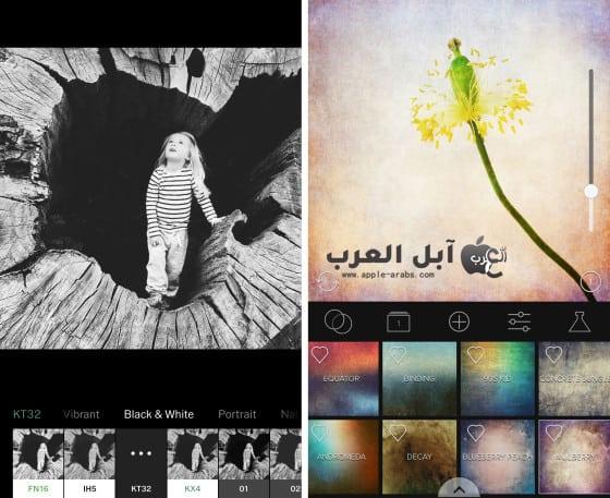 فضل تطبيقات تحرير الصور iPhone