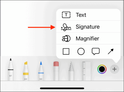 Tap-Signature-from-Menu