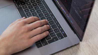طريقة إصلاح لوحة مفاتيح الماك المتعطلة